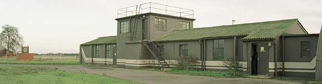 Alconbury's old control or watch tower