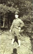 Sept. 1941 USAAF Basic Training Greenier Field, NH John ONeil