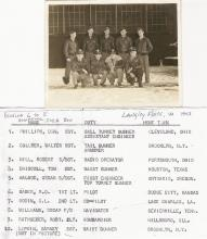 Oscar Williams original B-17 crew...1943 Langely Field, VA